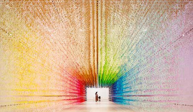 Emmanuelle Moureaux's Slices of Time, NOW Gallery