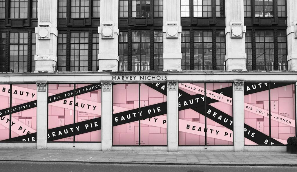 BEAUTY PIE, HARVEY NICHOLS 2020