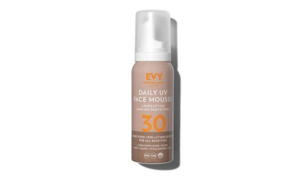 ​Evy Technology Daily UV Face Mousse SPF30, £24.95