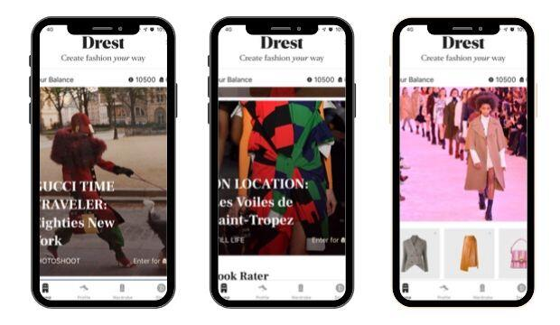 Download Drest, the coolest new app in fashion