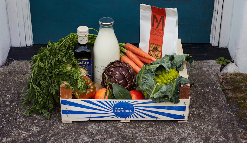 Sustainable groceries from Natoora