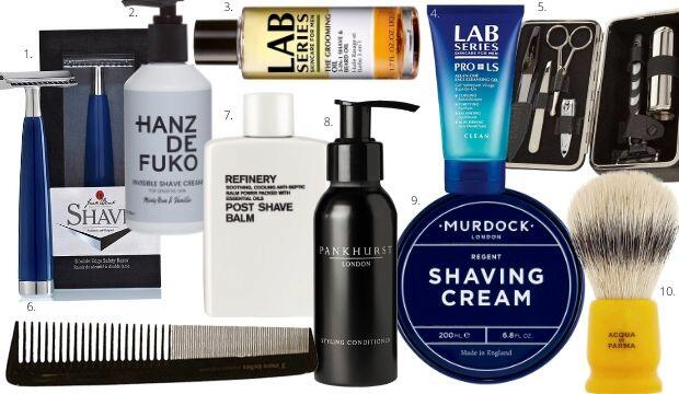 THE MEN'S GROOMING EDIT