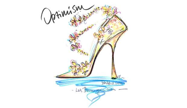 Sketching with Jimmy Choo