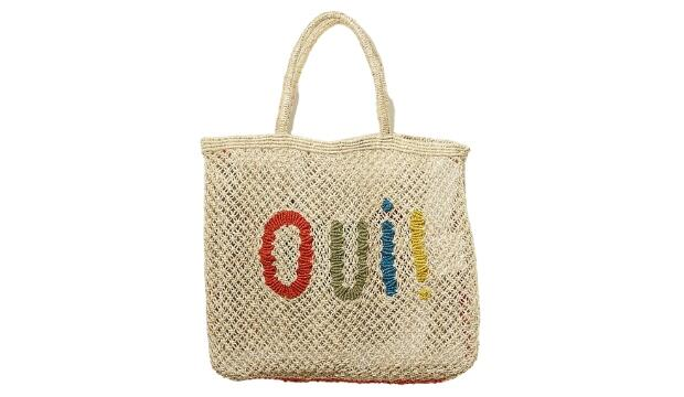 The Jacksons Oui! tote bag, £75