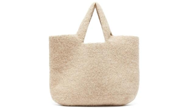 Lauren Manoogian Oval knitted tote, £428