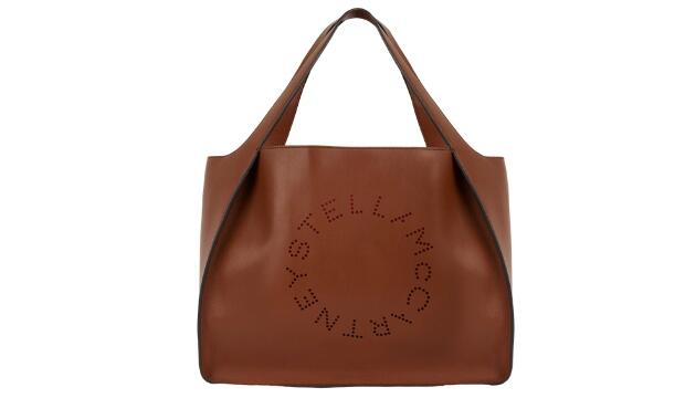 Stella McCartney caramel logo tote bag, £560