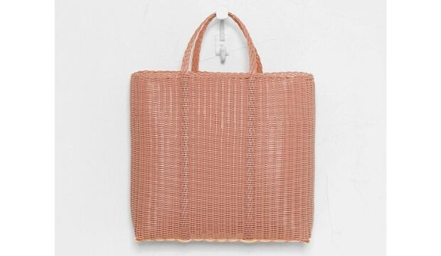 Palorosa flat large tote bag in rose, £125