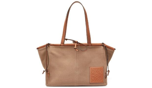 Loewe Cushion large canvas tote bag, £875