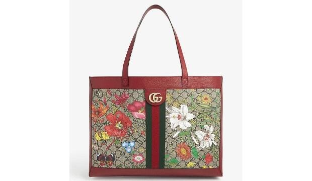 Gucci Ophidia floral and GG supreme tote, £1320