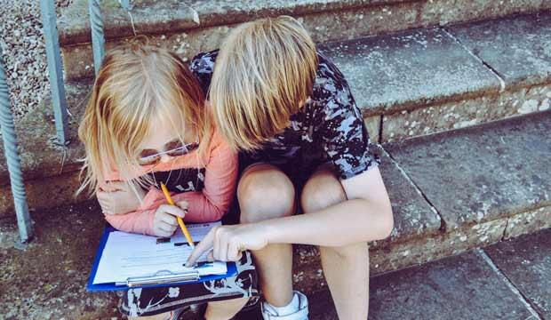 Unschooling is a child-led approach to learning. Photo: No Guidebook/Unsplash
