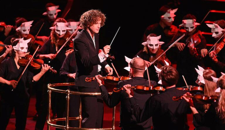 Aurora Orchestra under Nicholas Collon enjoy the drama of Berlioz. Photo: BBC/Mark Allan