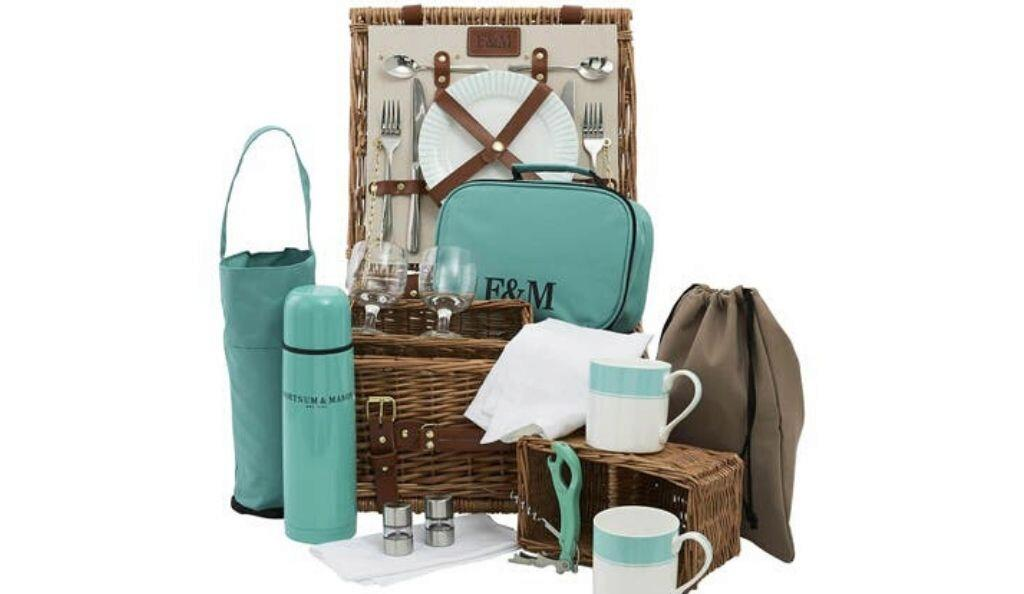 Piccadilly Stripe Two Person Hamper
