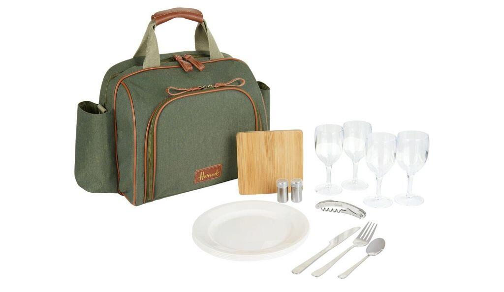 Filled Picnic Bag for Four