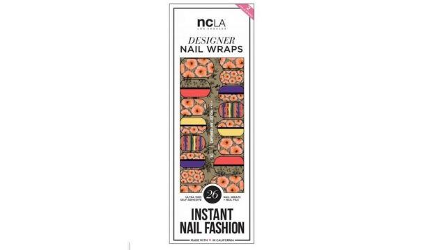 ​ncLA Los Angeles Instant Nail Fashion Designer Nail Wraps - Captured Reflection, £10.95