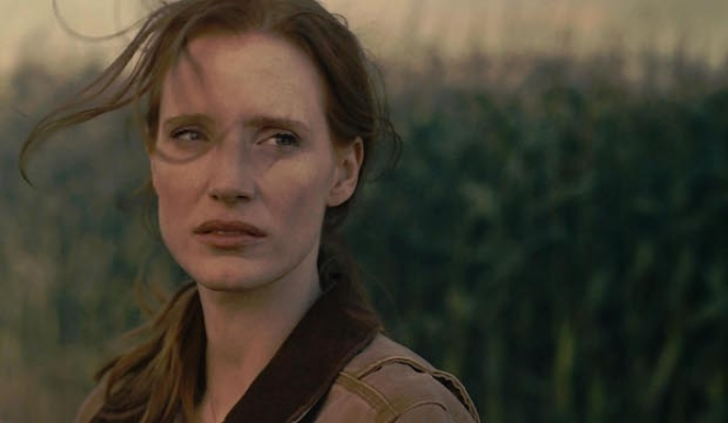 Jessica Chastain stars with Matthew McConaughey in Nolan's 'Interstellar'