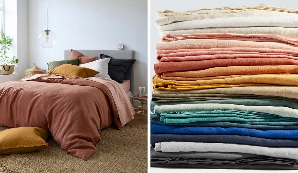 La Redoute: Washed Linen Collection