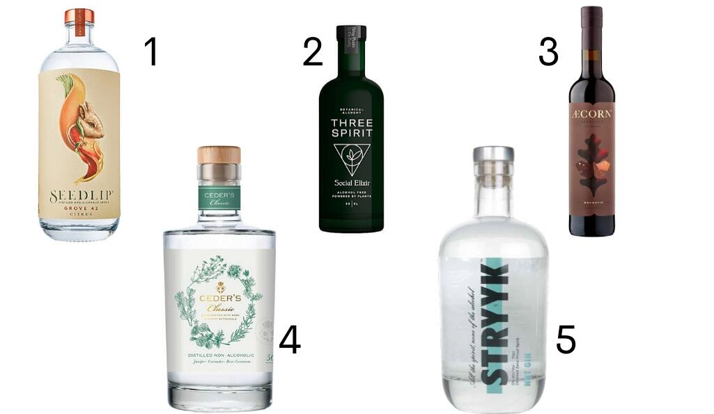Sober & savvy: the best non-alcoholic spirits