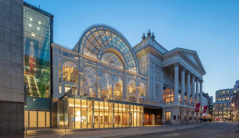 Live music lights up the Royal Opera House again. Photo: Luke Hayes