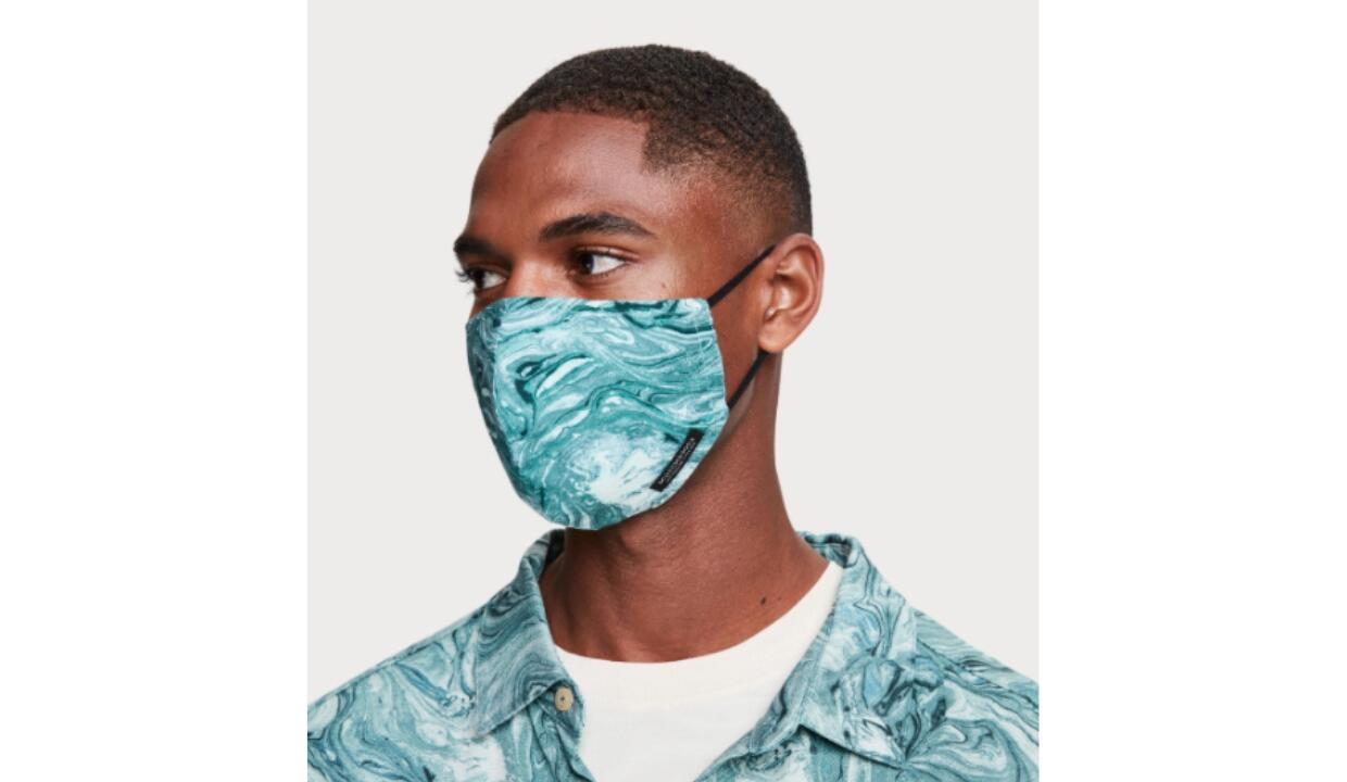 Scotch & Soda reusable men's face mask, £9.95