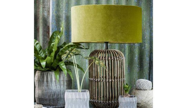 Sonja Rattan Table Lamp, Graham and Green
