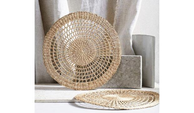 Seagrass Woven Placemats, The White Company