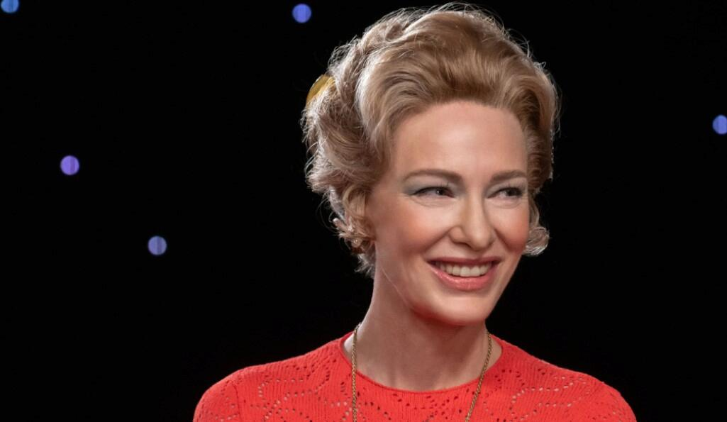 Cate Blanchett in Mrs America, BBC Two (Credit: BBC)