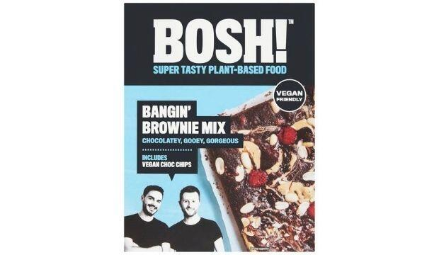 The plant-based brownie baking kit