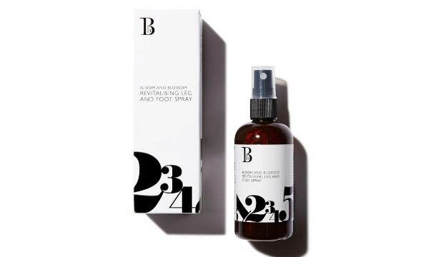 Air-con for feet | Bloom and Blossom Revitalising Foot & Leg Spray, £11.20 (was £14)