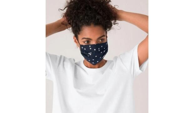 Hush printed face mask, £10