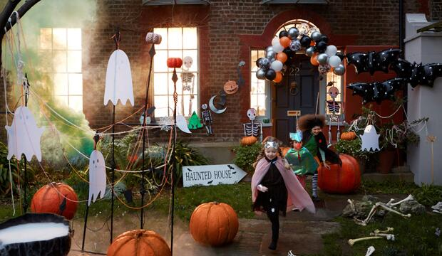 Get creative with the Halloween decor