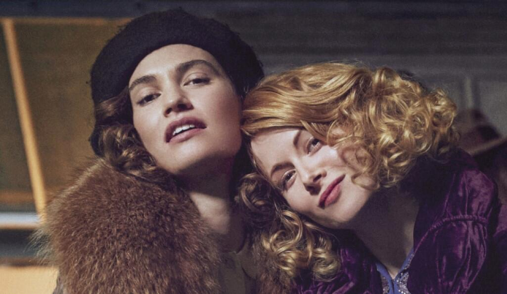 Lily James and Emily Beecham in The Pursuit of Love, BBC (Photo: BBC)
