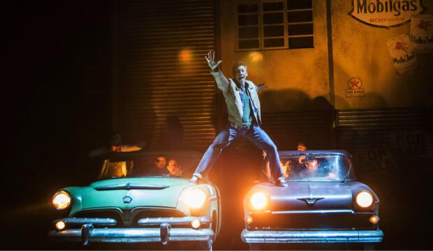 Matthew Bourne's The Car Man.  Photo: Johan Persson 2015 production