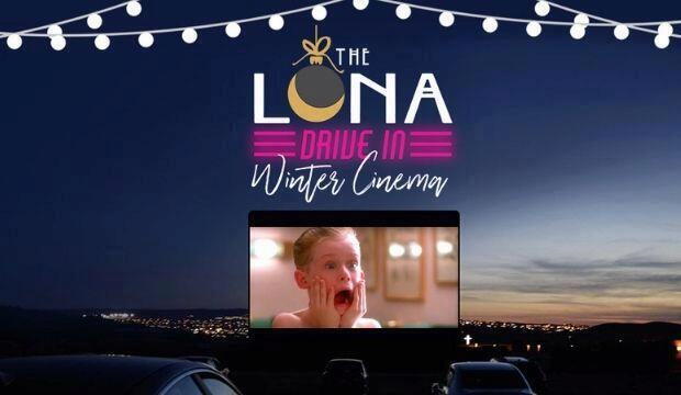 The Luna Drive In Winter Cinema, Copthall Stadium