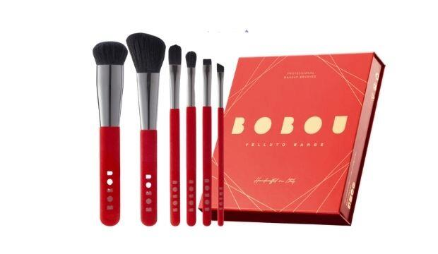 PRO BRUSH STROKES | ​Bobou Beauty Velluto Range Professional Brushes, £120