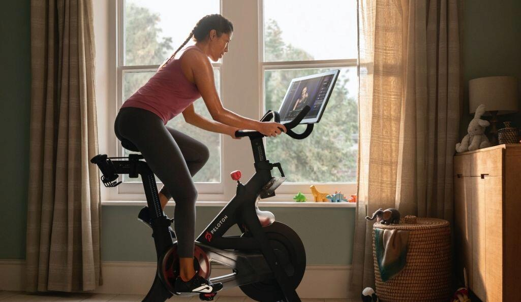 The rise and rise of the home gym. Picture: Peloton