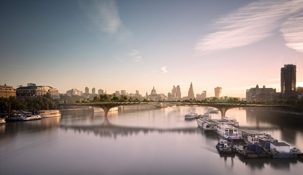 Heatherwick Studio, Garden Bridge London