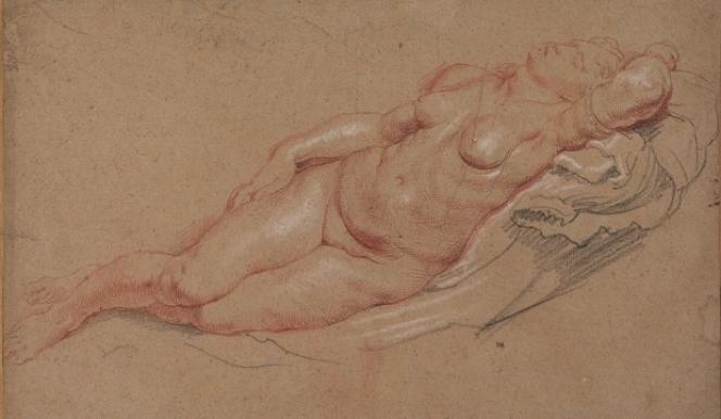 Peter Paul Rubens (1577-1640), Female nude, The Samuel Courtauld Trust, The Courtauld Gallery, London