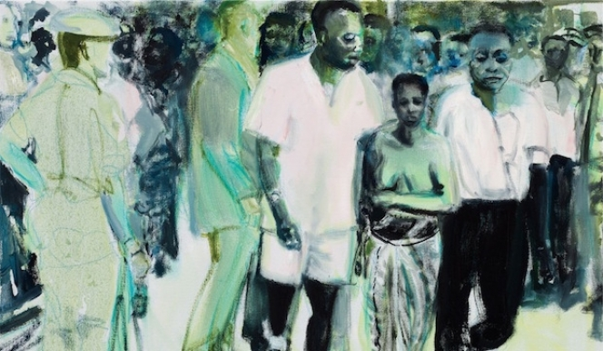 Marlene Dumas  The Widow 2013 Private Collection © Marlene Dumas