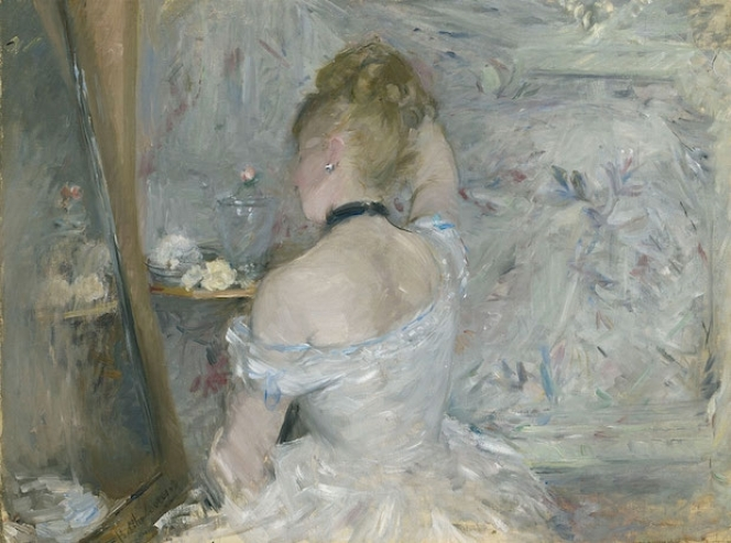 Women at Her Toilette, c.1877, Berthe Morisot, The Art Institute of Chicago, Stickney Fund, Illinois, USA