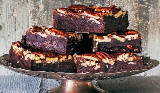 Gail's Pecan Brownies: Best Recipe Books 2015