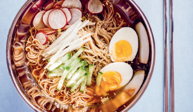 Nanban: Korean-style Chilled Ramen recipe