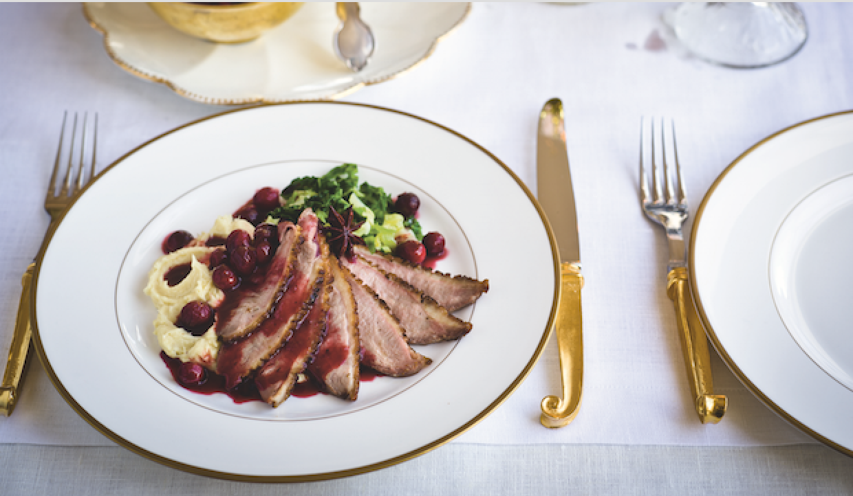 Gordon Ramsay Christmas Recipes: Pan-Fried Duck with Spiced Orange ...