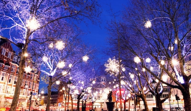 London Christmas attractions