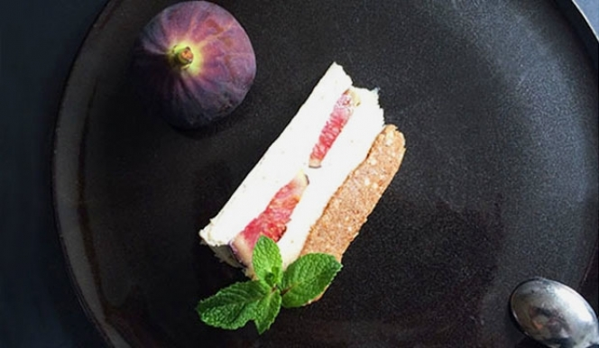Stephanie Achar Recipe: Homemade Raw Fig & Lavender Honey Cheesecake