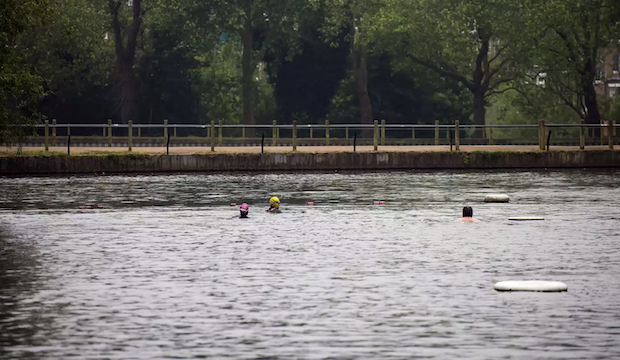 Hampstead Pond Swimming