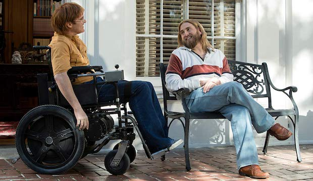 joaquin phoenix jonah hill don't worry he won't get far on foot