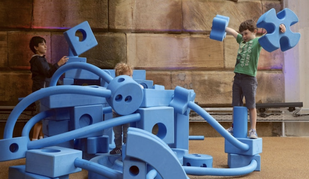 Family events at Battersea Power Station: Imagination Playground
