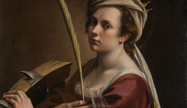 Artemisia Gentileschi Self-Portrait, National Gallery