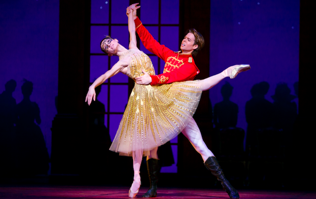 Anna Tsygankova and Matthew Golding in the Cinderella ballet | London Coliseum
