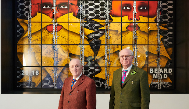 Gilbert and George at BRAFA Art Fair, 2019